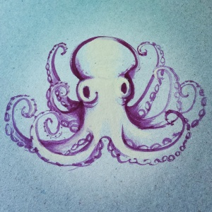 Proud octopus