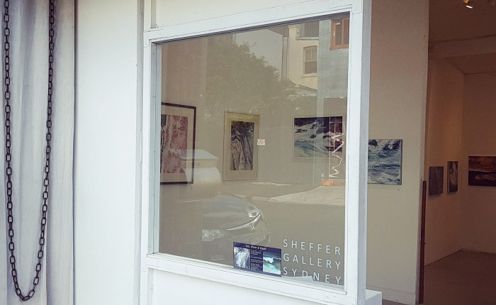 Come see new artwork by Georgia Freebody and Gay Adele Emmerson at Sheffer Gallery. Wed-Fri. 11-5.